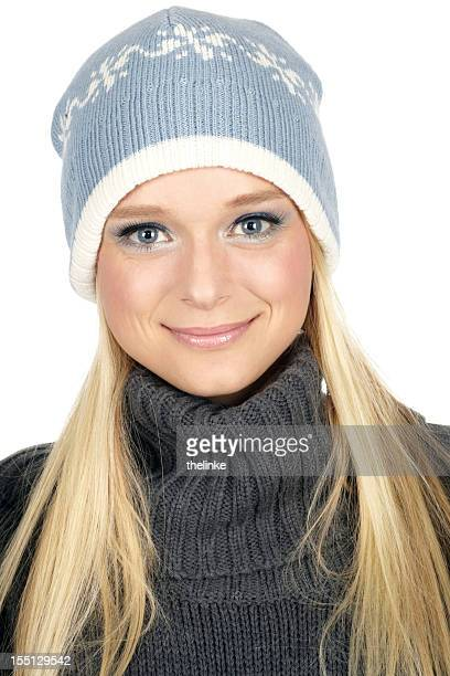 winter fashion series - mock turtleneck stock pictures, royalty-free photos & images