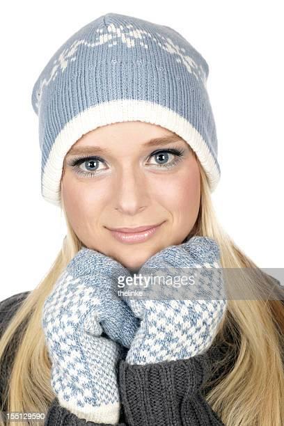 冬のファッションシリーズ