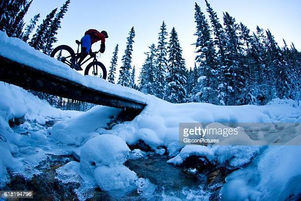 冬の脂肪のサイクリング