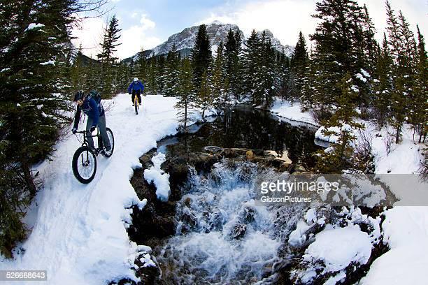Winter Fat Bike Riders