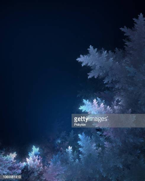 winter frosty frame, christmas background - snowflake background stock photos and pictures