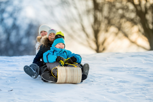 Winter Fun on Tobbogan Hill 462576671