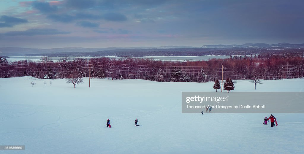 Winter fun : Stock Photo
