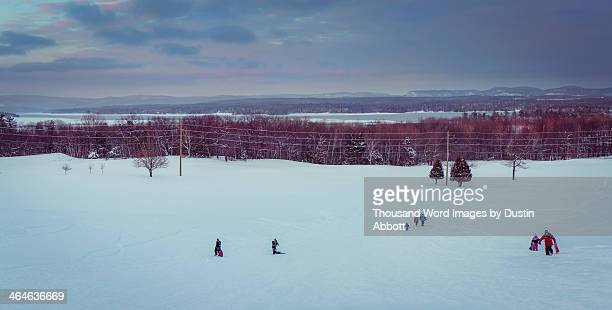 winter fun - dustin abbott stock pictures, royalty-free photos & images
