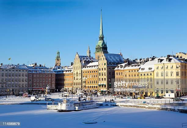 Winter, Gamla stan, Stockholm, Sweden