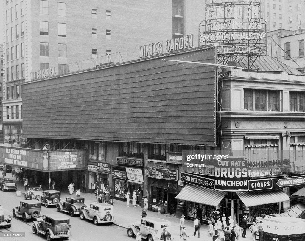 winter garden theater new york city 1933 - Winter Garden Theater Nyc