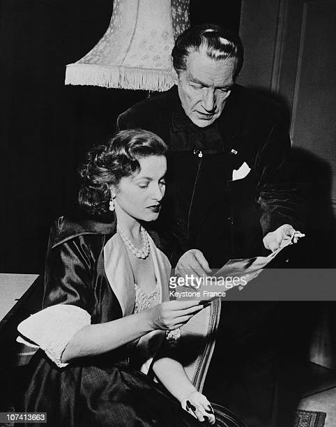 Winter Garden Theatre Sacha Guitry And His Wife Lana Marconi In London