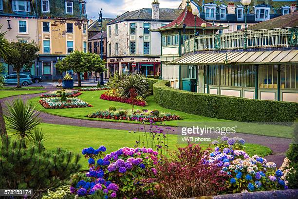 Winter Gardens and pavillion, Isle of Bute, Argyll, Scotland