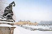 Winter gardens at Drottningholm Palace (Sweden)