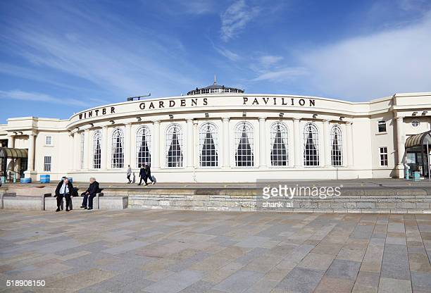 winter gardens pavilion,weston super mare - weston super mare stock pictures, royalty-free photos & images