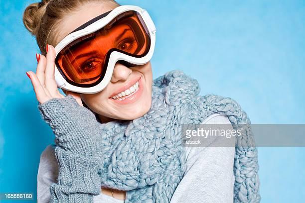 Winter Mädchen