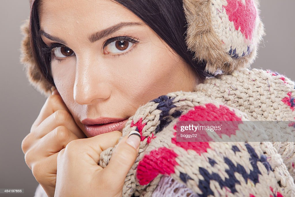 Winter girl : Stock Photo