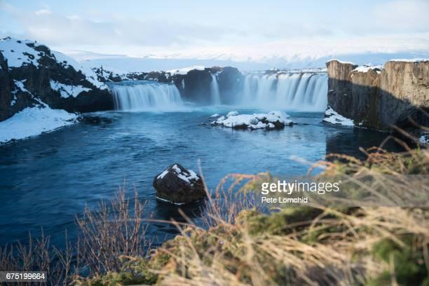 Winter godafoss Iceland 2017