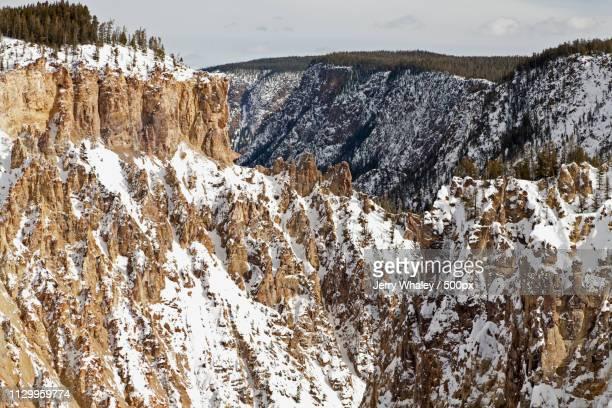 Winter, Grand Canyon Of The Yellowstone, Yellowstone Np