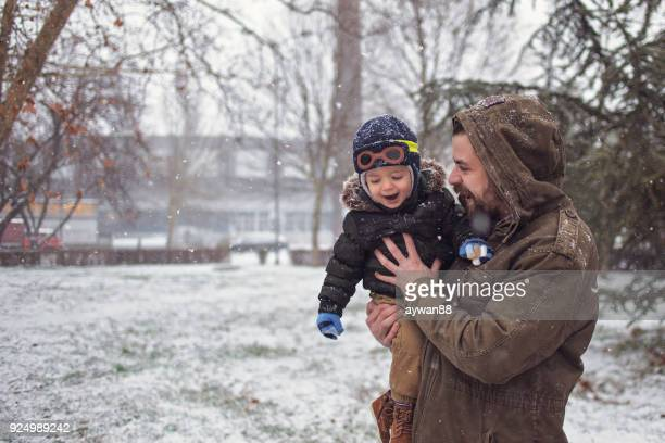 winter happiness - first occurrence stock pictures, royalty-free photos & images