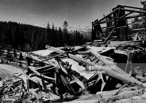 OCT 28 1979 OCT 29 1979 Winter Has Arrived In Colorado An old mine near Breckenridge shows signs of snow with more to come as winter moved into...