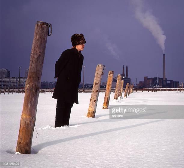 Winter Helsinki, Finnland