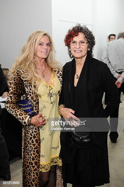 Winter Hoffman and Susan Hort attend The Rema Hort Mann Foundation LA Artist Initiative Benefit Auction on November 21 2013 in Los Angeles California