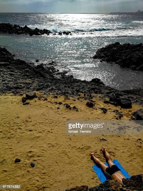 Winter holidays. Lanzarote