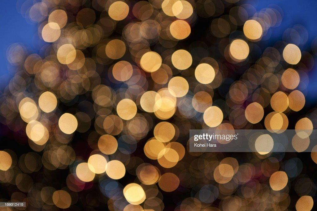 winter illumination : Foto de stock