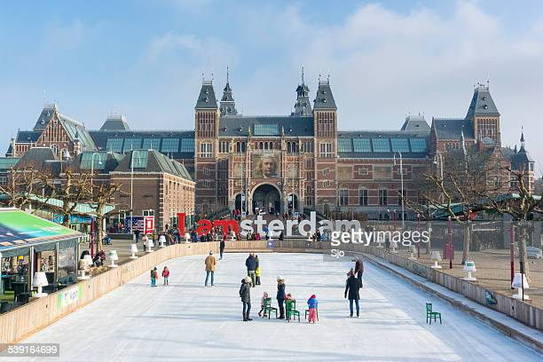 Winter in Amsterdam at the Rijksmuseum