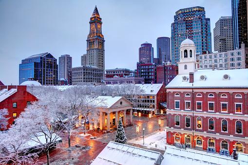 Winter in Boston 887480596