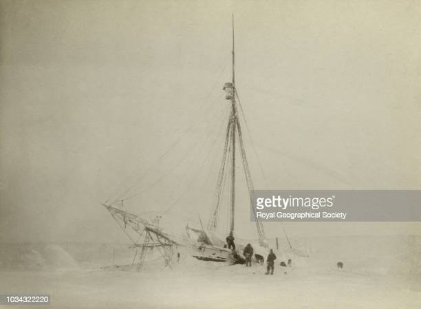 Winter in Gjoahaven The aim of this expedition was to make the first complete journey through the Northwest Passage and to locate the exact position...