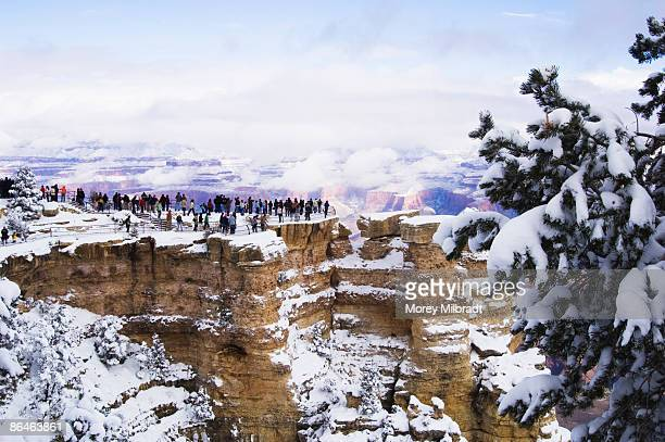 Winter in Grand Canyon National Park, Flagstaff, Arizona