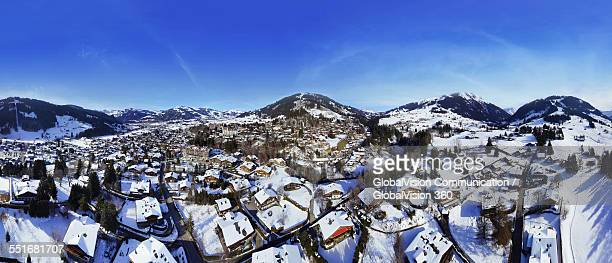 Winter in Gstaad, Switzerland