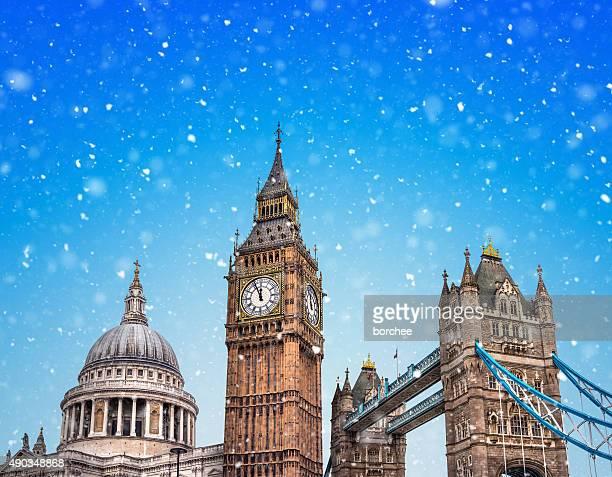 Hiver à Londres