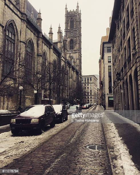 Winter in Montreal, Canada