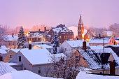 Winter in Nashua New Hampshire