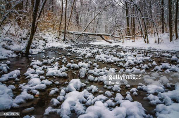 winter in ohio - cincinnati stock pictures, royalty-free photos & images