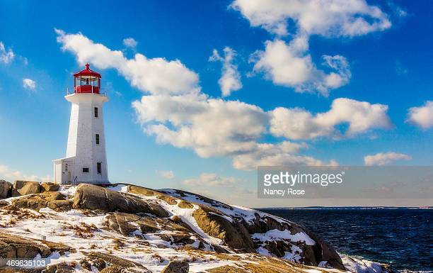 Winter in Peggy's Cove