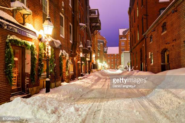 Winter in Portland, Maine