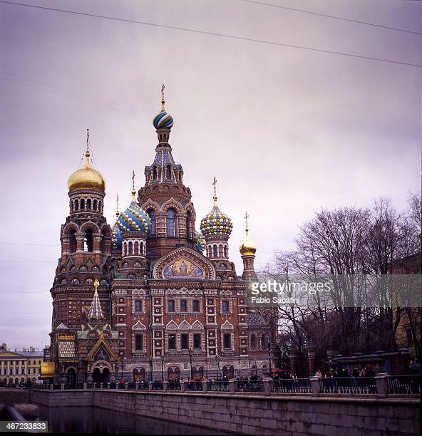 winter in russia - jesus blood stock pictures, royalty-free photos & images