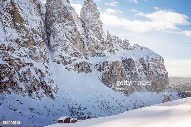 Winter in the Dolomites