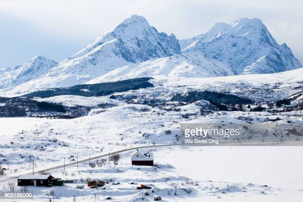 Winter in the Lofoten islands