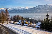 Winter in Zakopane, Poland