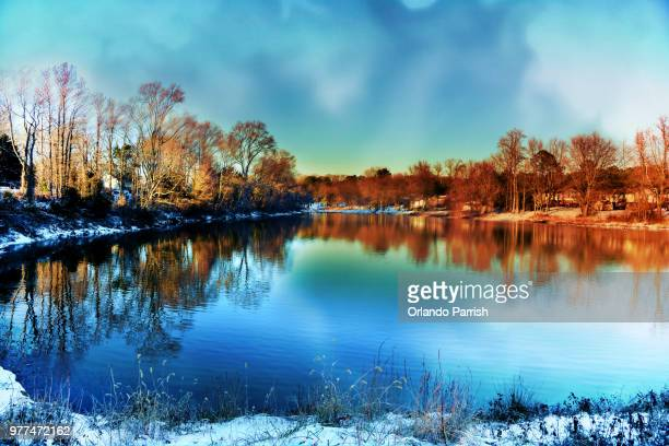 winter lake - special:whatlinkshere/file:lucerne_circle,_orlando,_fl.jpg stock pictures, royalty-free photos & images