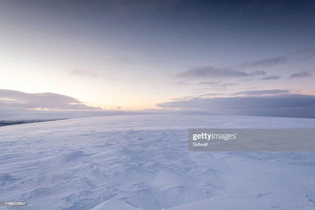 Winter landscape in Finland : ストックフォト