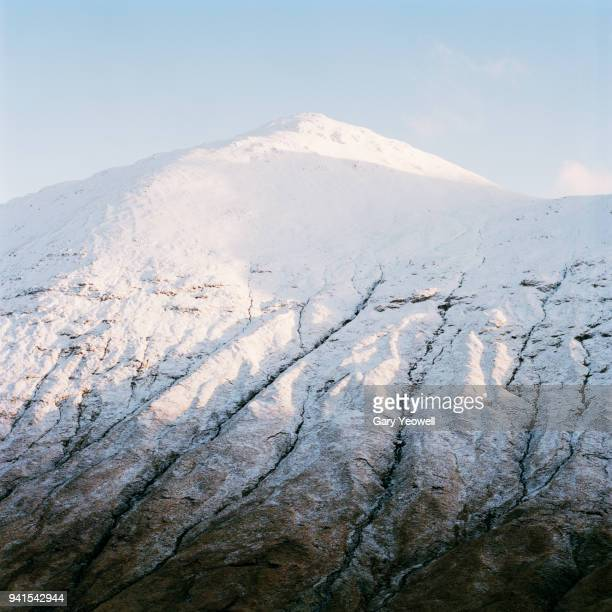winter landscape in glen coe, scotland - yeowell stock pictures, royalty-free photos & images