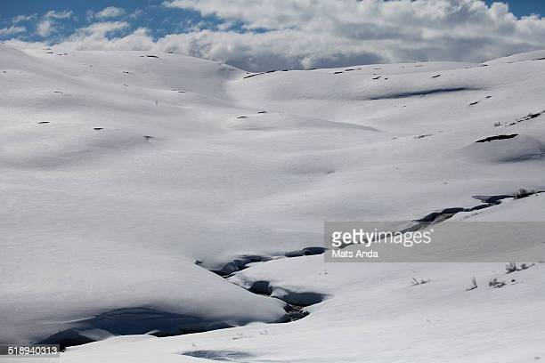 winter landscape in norway - correction fluid stock pictures, royalty-free photos & images