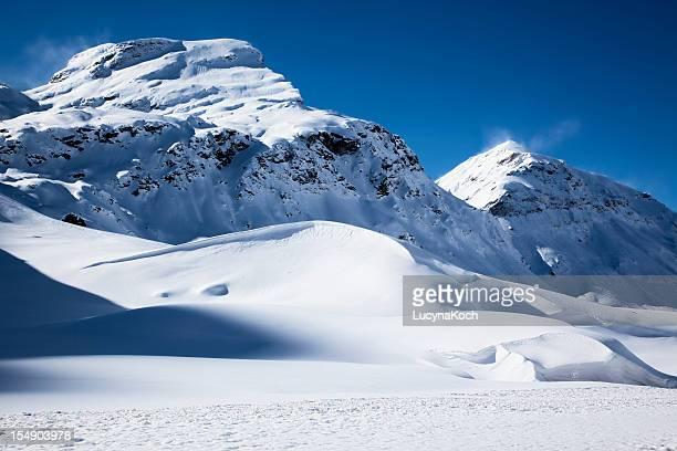 winter-landschaft - lucyna koch stock-fotos und bilder
