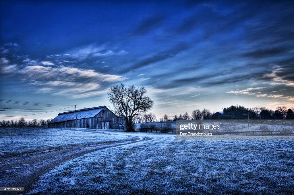 冬の風景 : ストックフォト