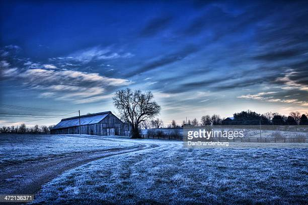 winter landscape - kentucky stock pictures, royalty-free photos & images