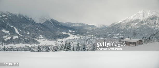winter loge - bayern stock pictures, royalty-free photos & images