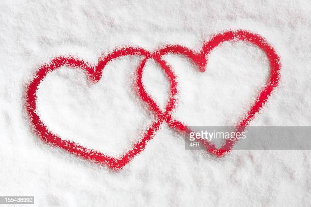 Winter Love, Snow Hearts (XXXL)