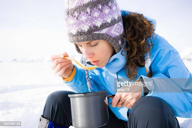 winter lunch