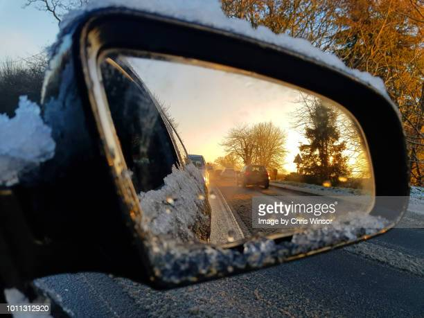 winter morning driving - 2018 stock pictures, royalty-free photos & images